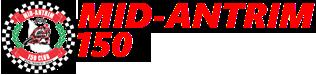 Mid Antrim 150 Logo