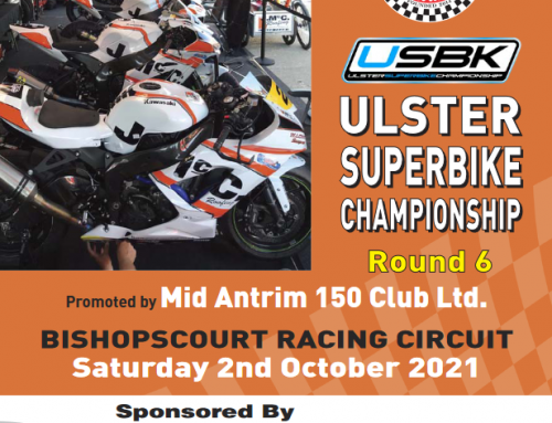 Ulster Superbike Championship Round 6. 2nd October Sponsored by J McC. Roofing